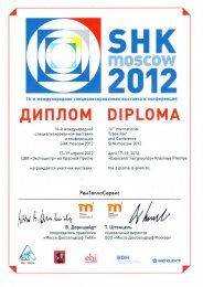 SHK Moscow 2012