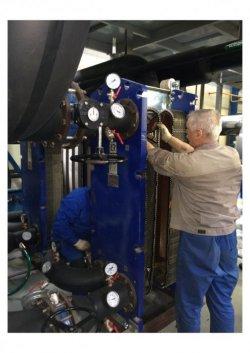 Стоимость ремонта пластинчатых теплообменников Пластинчатый теплообменник Машимпэкс (GEA) LWC 100T Шадринск